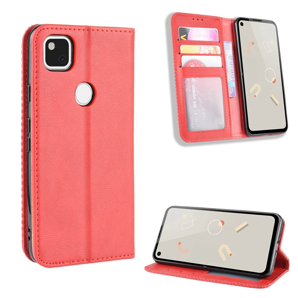 iPhone XS Max Cover, Shockproof Soft PU Leather Flip