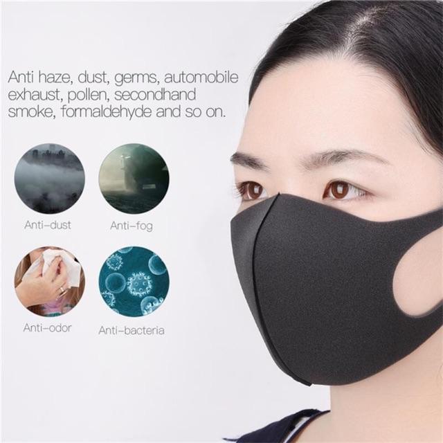 Pitta Mask, Face Mask, Adult Washable Face Mask Mouth Mask(17/3 pos)