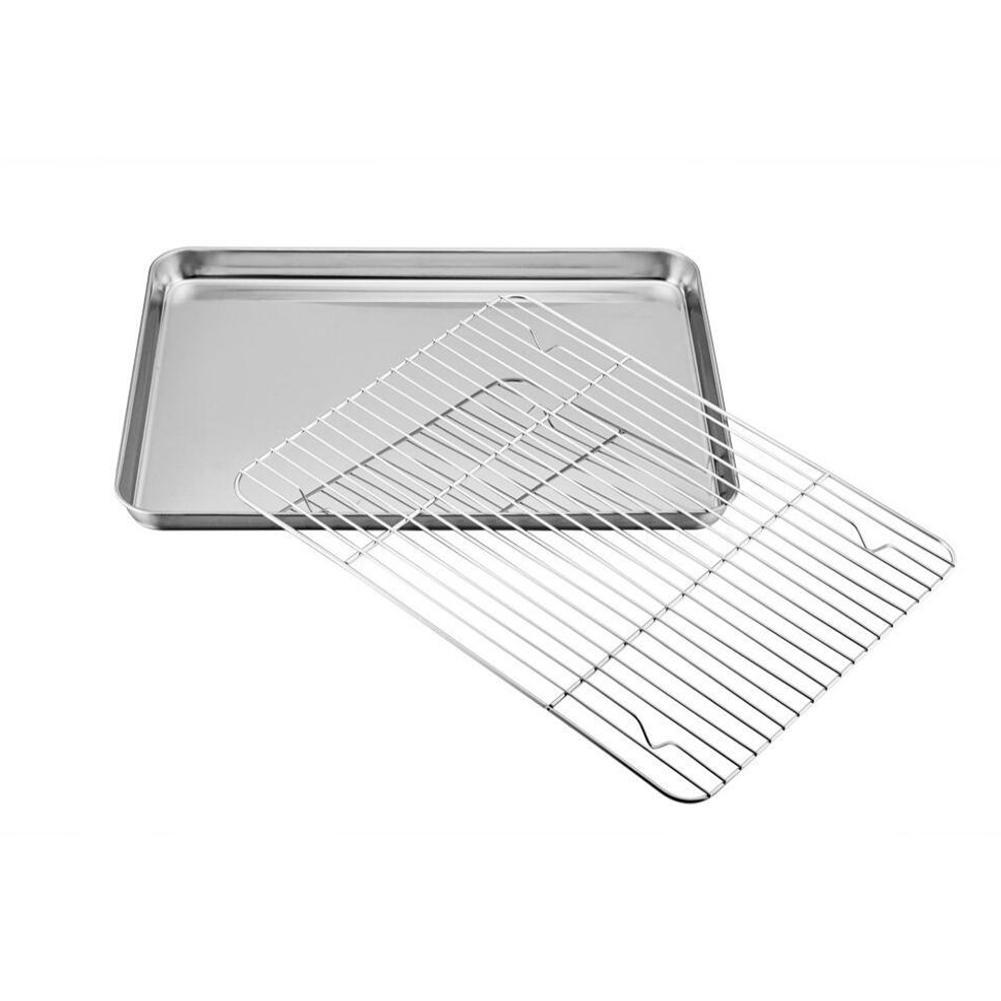Sweejar Bakeware Stainless Steel Baking Tray Baking Pans