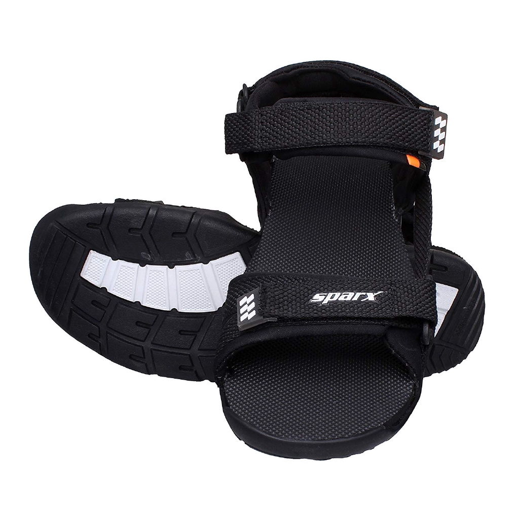 768ee38011541 Men s Black Sports Sandal Floaters SS101 - Sparx  CQO