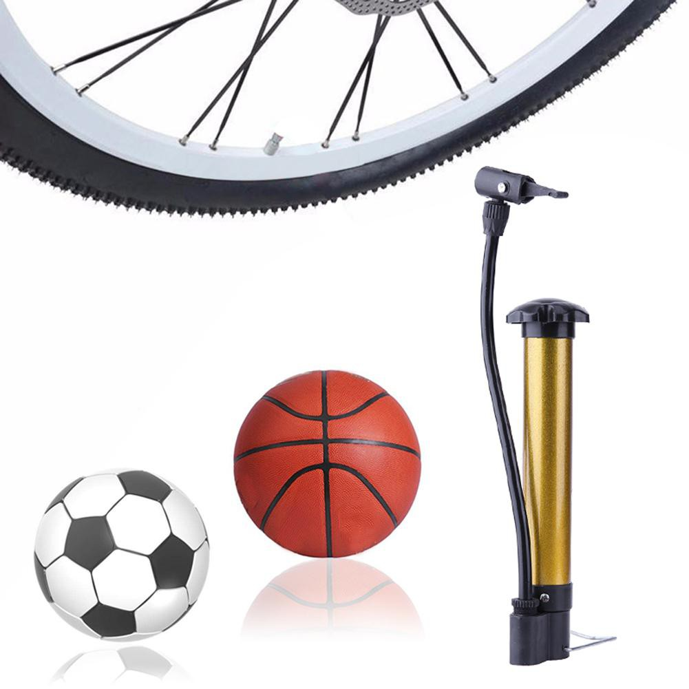 Cycling Bicycle Air Pump And Ball Basketball Tyre Soccer Bike Pump Hand Sport