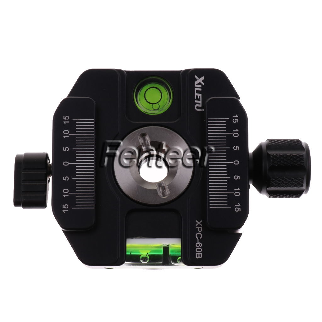 XILETU PU-70 UNC 1//4 Universal Quick Release Plate for Manfrotto