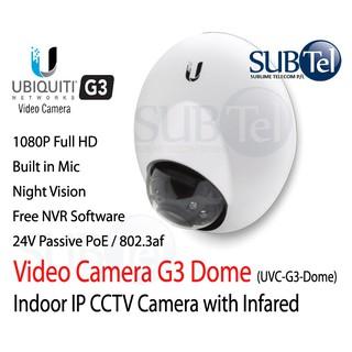 Ubiquiti UVC-G3-AF - Latest Unifi Video Camera - Indoor