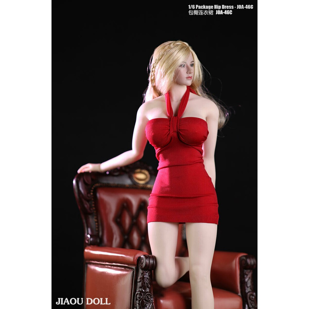 JIAOU DOLL 1//6 JOA-62 Female Lace Dress Clothes Fit 12/'/' PH TBL  Figure Body Toy