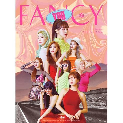 [Authentic Guarantee] TWICE 7th Mini Album - FANCY YOU