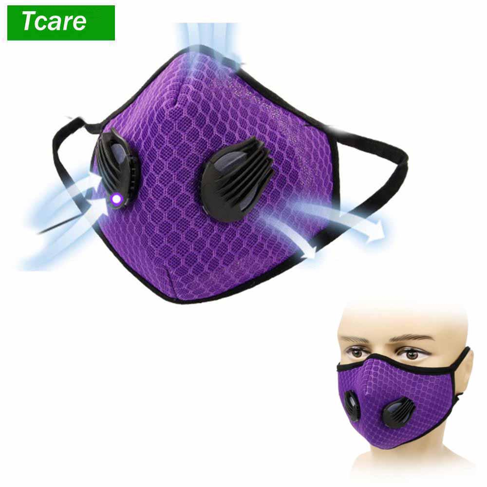 Back To Search Resultsbeauty & Health Independent Tcare 1pcs Fashion Unisex Cotton Breath Valve Mouth Mask Anti-dust Anti Pollution Face Masks Filter Respirator Mouth-muffle