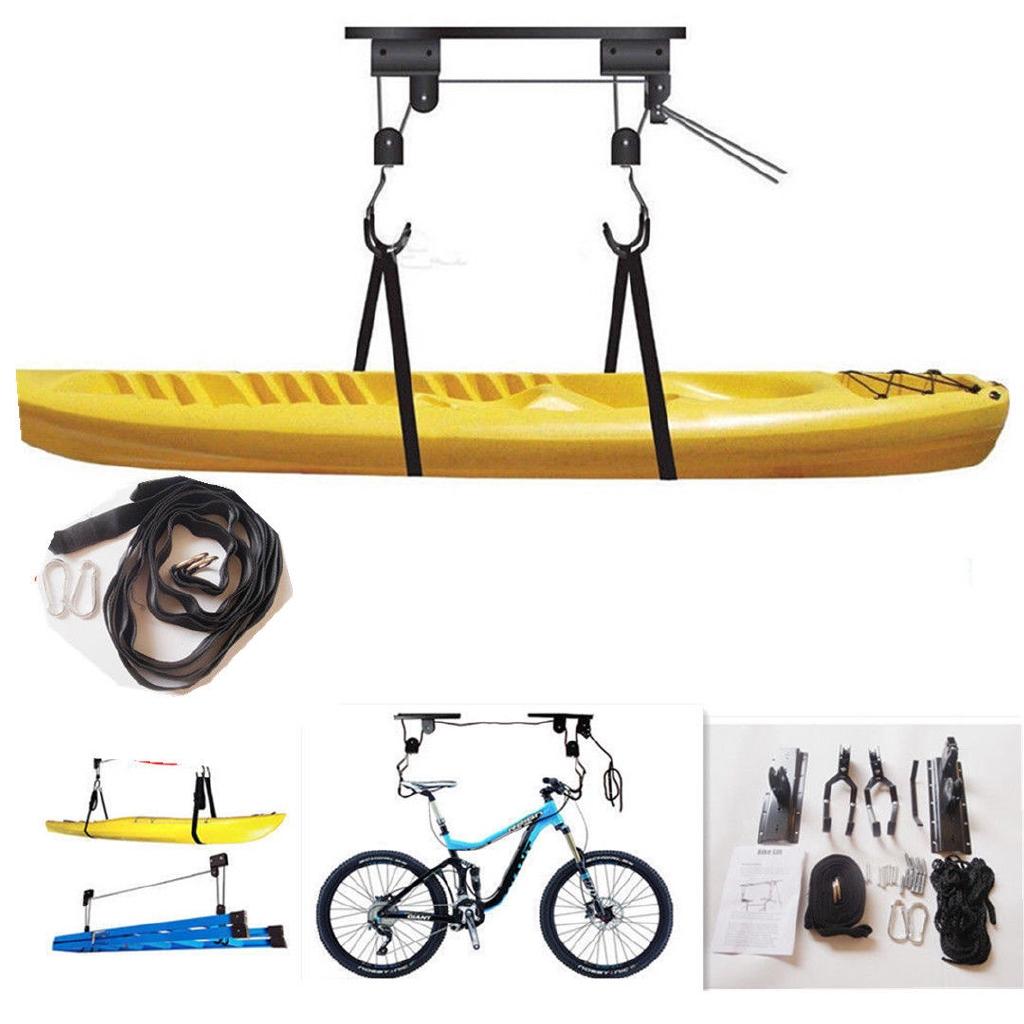Bike Hoist Pulley Lift Garage Ceiling