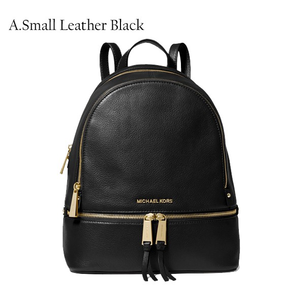 03da3393b070 Authentic MK Michael Kors Rhea Small/Medium Studded Leather Backpack |  Shopee Singapore