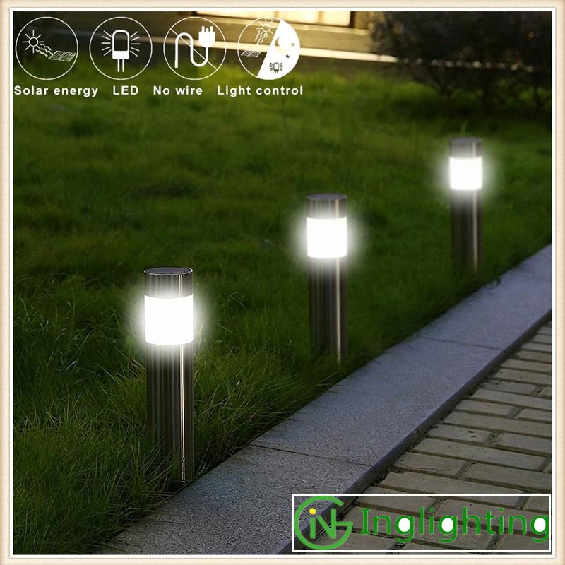 2w Led Solar Garden Lighting Stainless