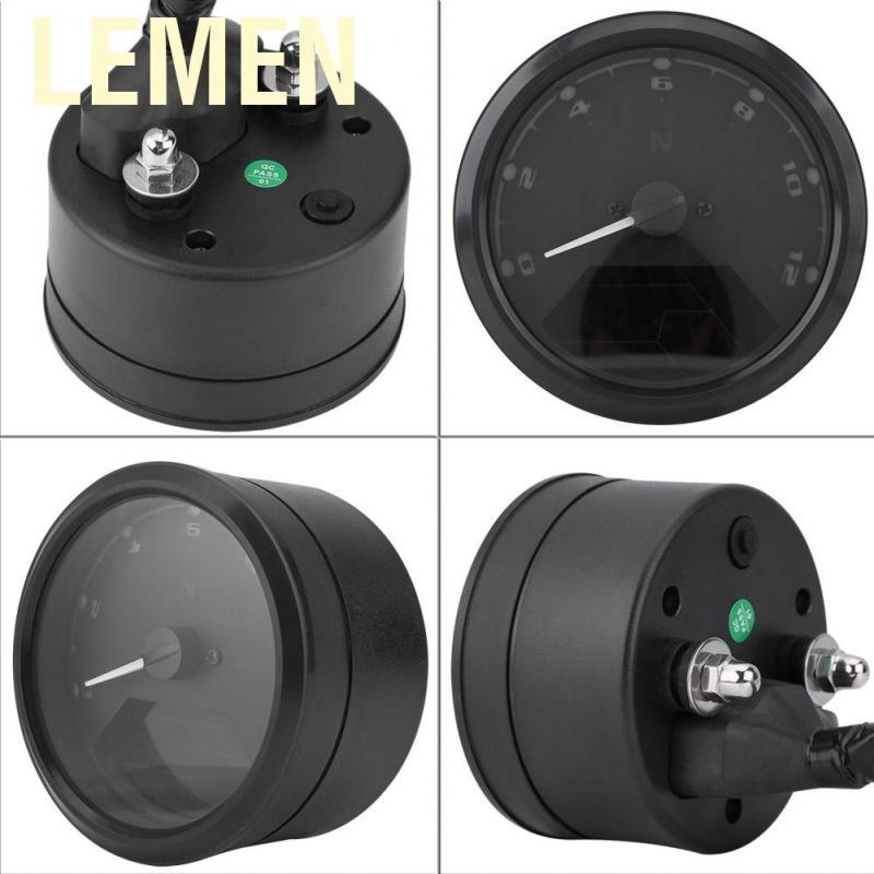 Diagram Aramox 12000rmp Lcd Digital Speedometer Tachometer Gear