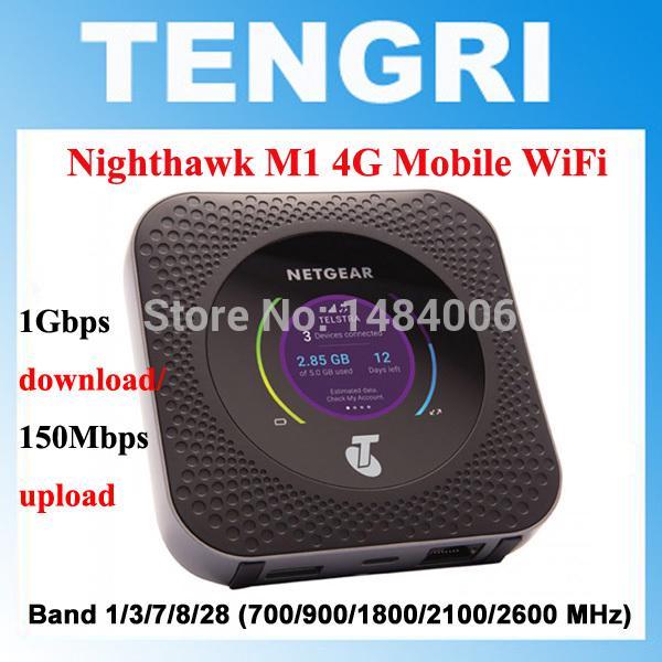 Unlocked Netgear Nighthawk M1 4GX Gigabit LTE Mobile Router