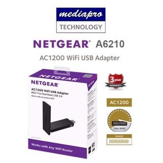 Netgear A6210 AC1200 WiFi USB Adapter | Shopee Singapore