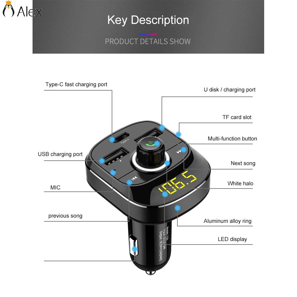 Bluetooth Wireless Fm Transmitter Mp3 Player Handsfree Car Kit Usb Bt20 Dual Charger Wma Audio Hands Free Call 5v 34a Support Tf Card Music Pl Sd Newest Shopee Singapore