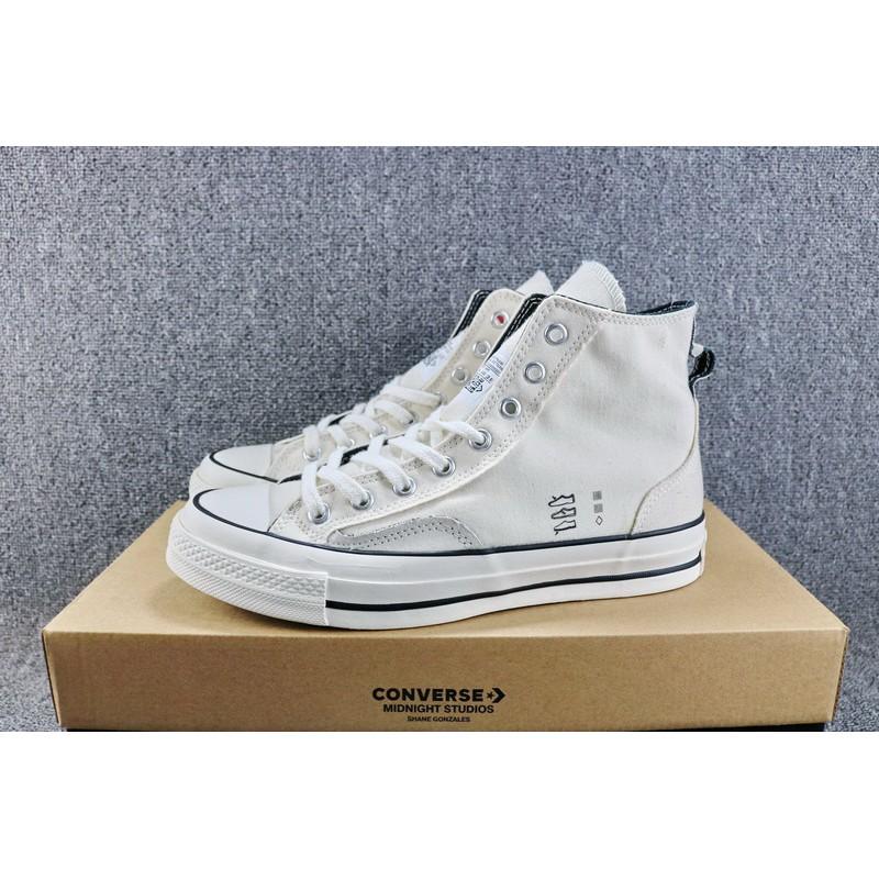 Converse CDG X Chuck Taylor 1970s HiOX 18SS Skateboarding Shoes Sport White  men  211fc00b7e26