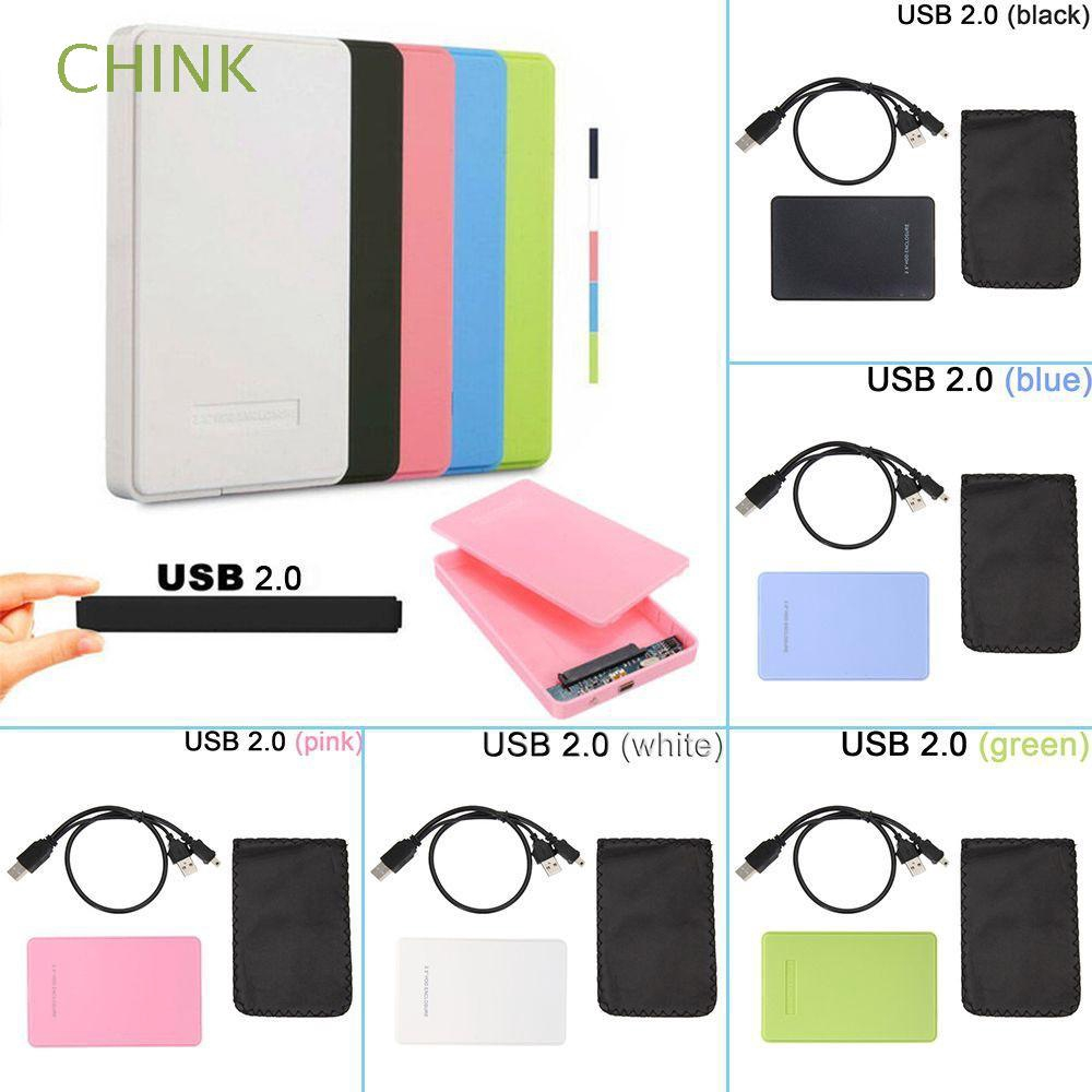 New USB 3 0/2 0 External Drive HDD Enclosure Hard Disk Case 2 5 Inch SSD