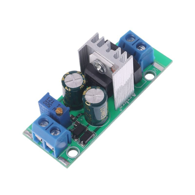 Suite LM317 Module Adjustable Power Supply Regulated Plate Rectifier AC//DC Input