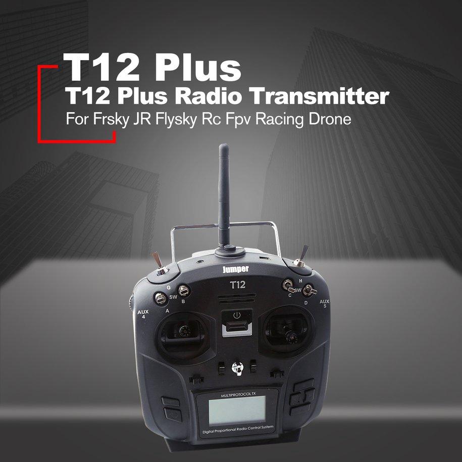 T12 Plus Multi-protocol Radio Transmitter w/JP4-in-1 RF Module