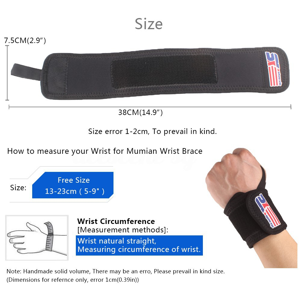 👉【NEW】Sports Elastic Stretchy Wrist Joint Brace Support