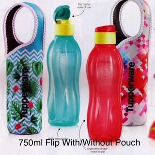 tupperware bpa free aquasafe eco water bottle fridge water 500ml 750ml 1l shopee singapore. Black Bedroom Furniture Sets. Home Design Ideas