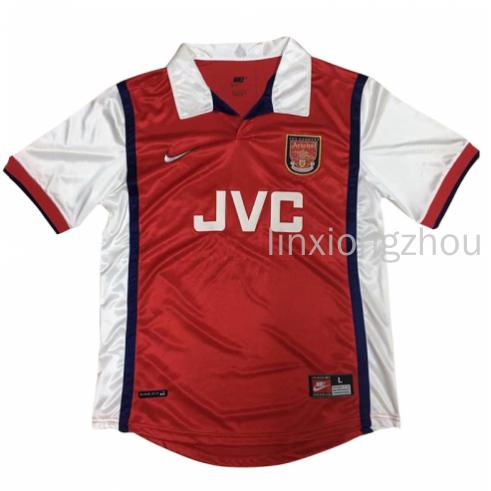 promo code 15443 d8dff Top Quality 1998-99 Arsenal Home Retro Football Jersey ...