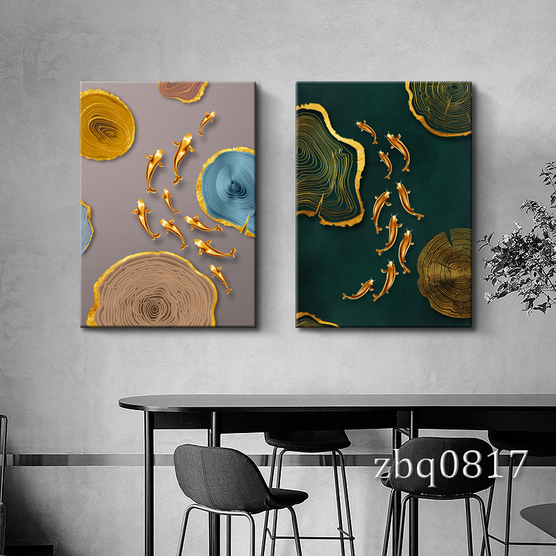 Modern Art Painting Canvas, Feng Shui Painting For Living Room
