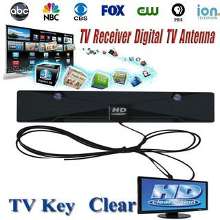 HDTV Antenna Indoor 1080P Digital TV Antenna 35 Miles Free Local Channels