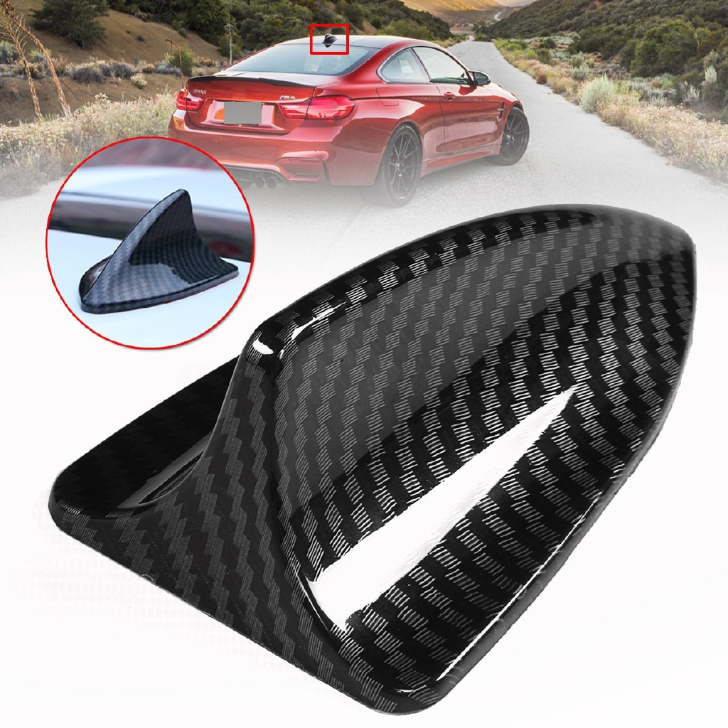Car Vehicles Shark Fin Antenna Aerial Decoration Car Protective Trim Universal