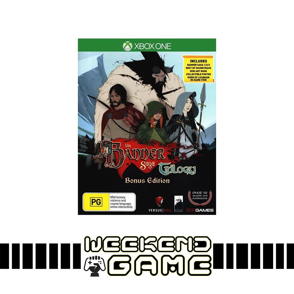 The Banner Saga Trilogy Bonus Edition //Xbox One//