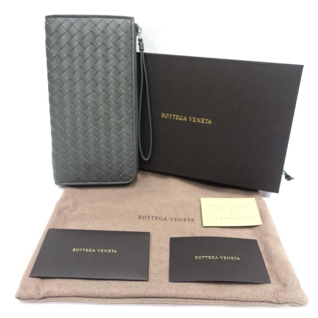 ec2cdbd866 BNIB Bottega Veneta Bifold Wallet in Black