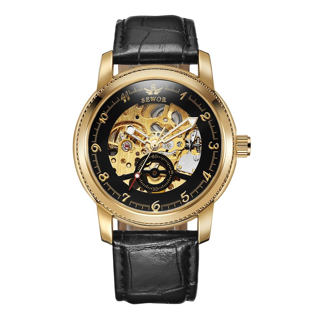 Winner Men's Mechanical watches Skeleton Automatic Watch 005 | Shopee Singapore