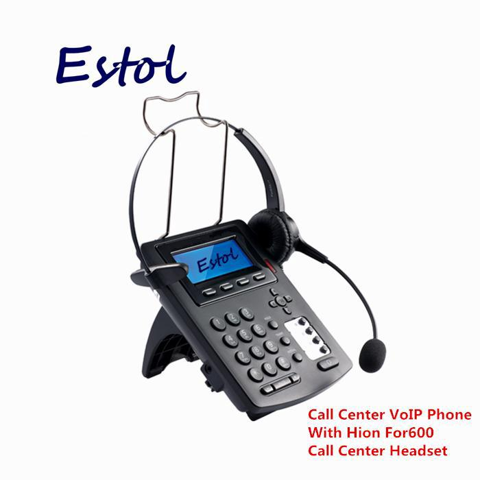 hion SIP lines call center VoIP SIP Phone IP Phone with RJ9