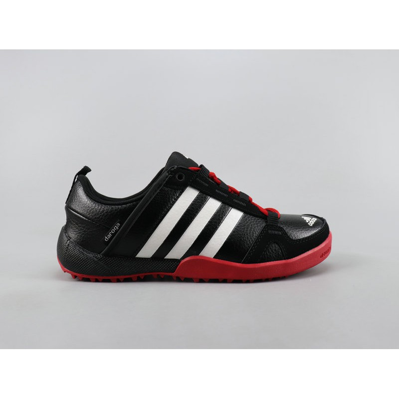 viceversa Persona a cargo Perforación  Adidas Daroga Two 11 Lea Men And Women Shoes Leather Comfortable Running  Shoes Black 36 - 44 | Shopee Singapore