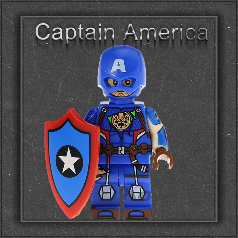 Compatible with Lego Minifigures AntMan Iron SpiderMan Captain America Black Panther Deadpool Building Blocks Toys For Children