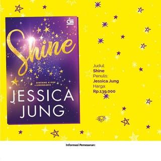 ARC NEW Korean K-Pop novel language PRE ODER Shine by Jessica Jung