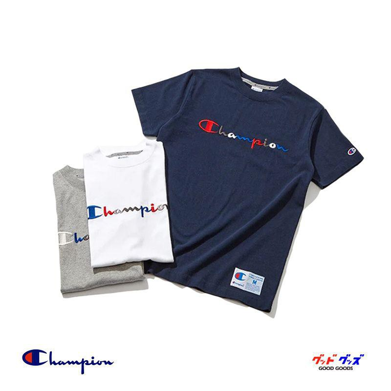 4f5573c469ea HYPED.】Champion Rainbow Logo T-Shirt Tee (JAPAN) | Shopee Singapore