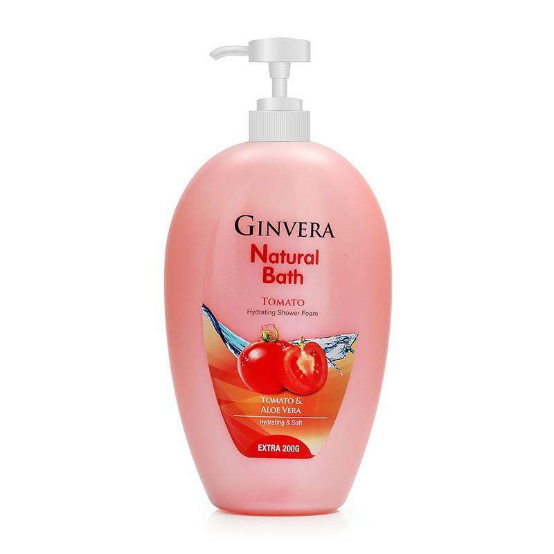 Ginvera Natural Bath Shower Foam 1000g