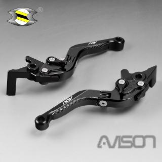Folding Extendable Brake Clutch Levers anodized For YAMAHA TDM 900 2002-2014