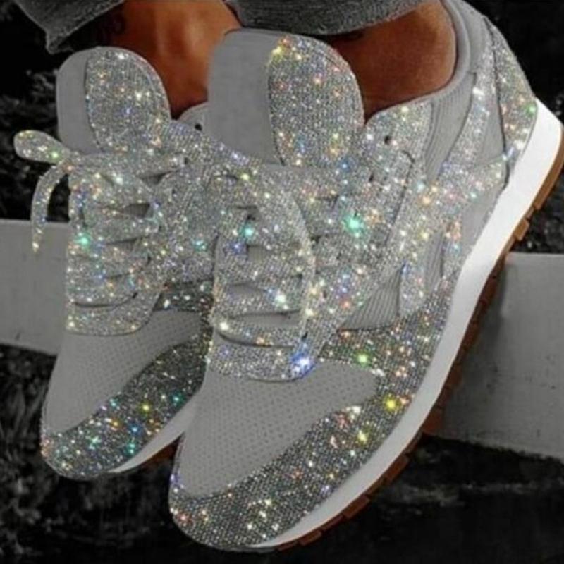 """Women/'s Slide Sandals Rubber /""""Bling Bling/"""" Shoes Rhinestones Sizes 7-11 New"""
