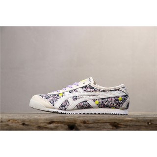 online store 938e8 20912 Onitsuka Tiger MEXICO 66 SLIP-ON color purple flower shoes ...