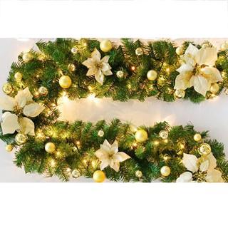 Christmas Garlands.Christmas Garlands Artificial Green Fireplace Xmas Pine Wreaths Hanging Ornamen