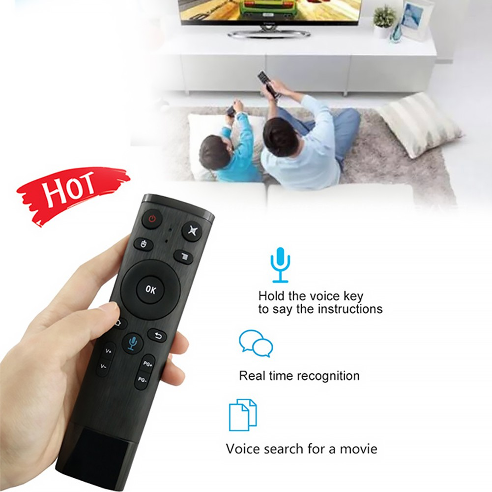 315204c115e Mengqi✨Bluetooth Voice Remote Control Air Mouse Wireless Keyboard Universal  | Shopee Singapore