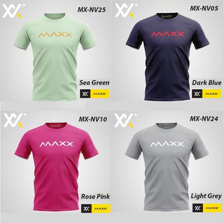 Maxx【Original】Plain Tee Series Badminton Jersey New (4 COLOR)
