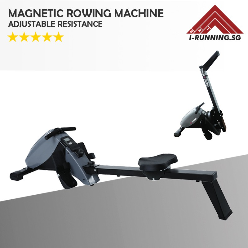 Magnetic Rowing Machine ☆ Magnetic Rower ☆ Foldable   Shopee Singapore