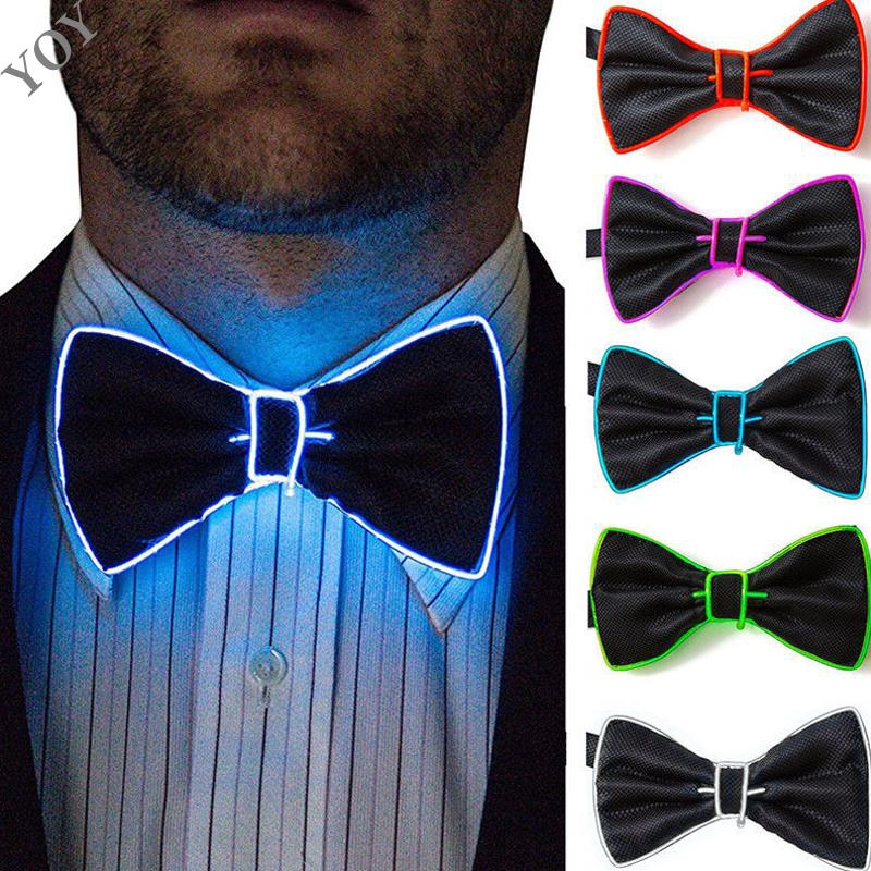 TUXEDO COSTUME ACCESSORY BLACK SATIN POLYESTER CLIP ON ADULT BOWTIE BOW TIE