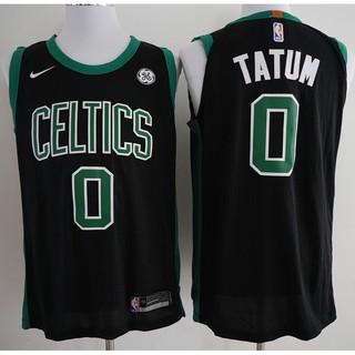 new style f9ed1 5b58e 2018 Original Nike NBA Boston Celtics Jayson Tatum #0 Black ...