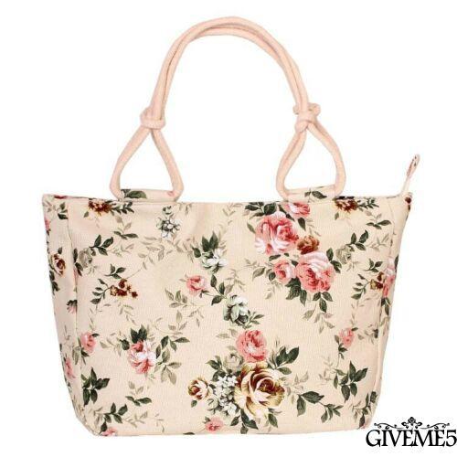 womens girls large striped summer shoulder shopper tote canvas beach bag DBSD
