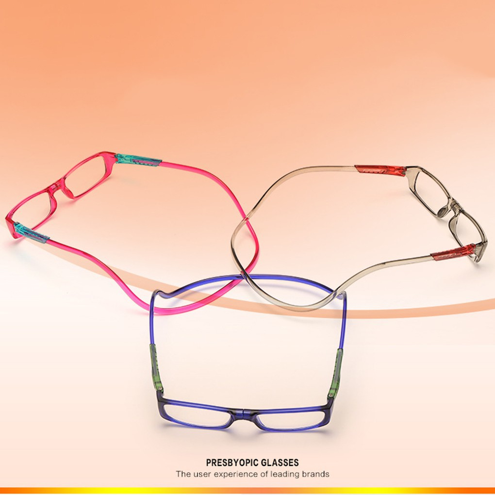 8a6f03a952c Halter Wearing Folding Magnetic Reading Presbyopic Glasses
