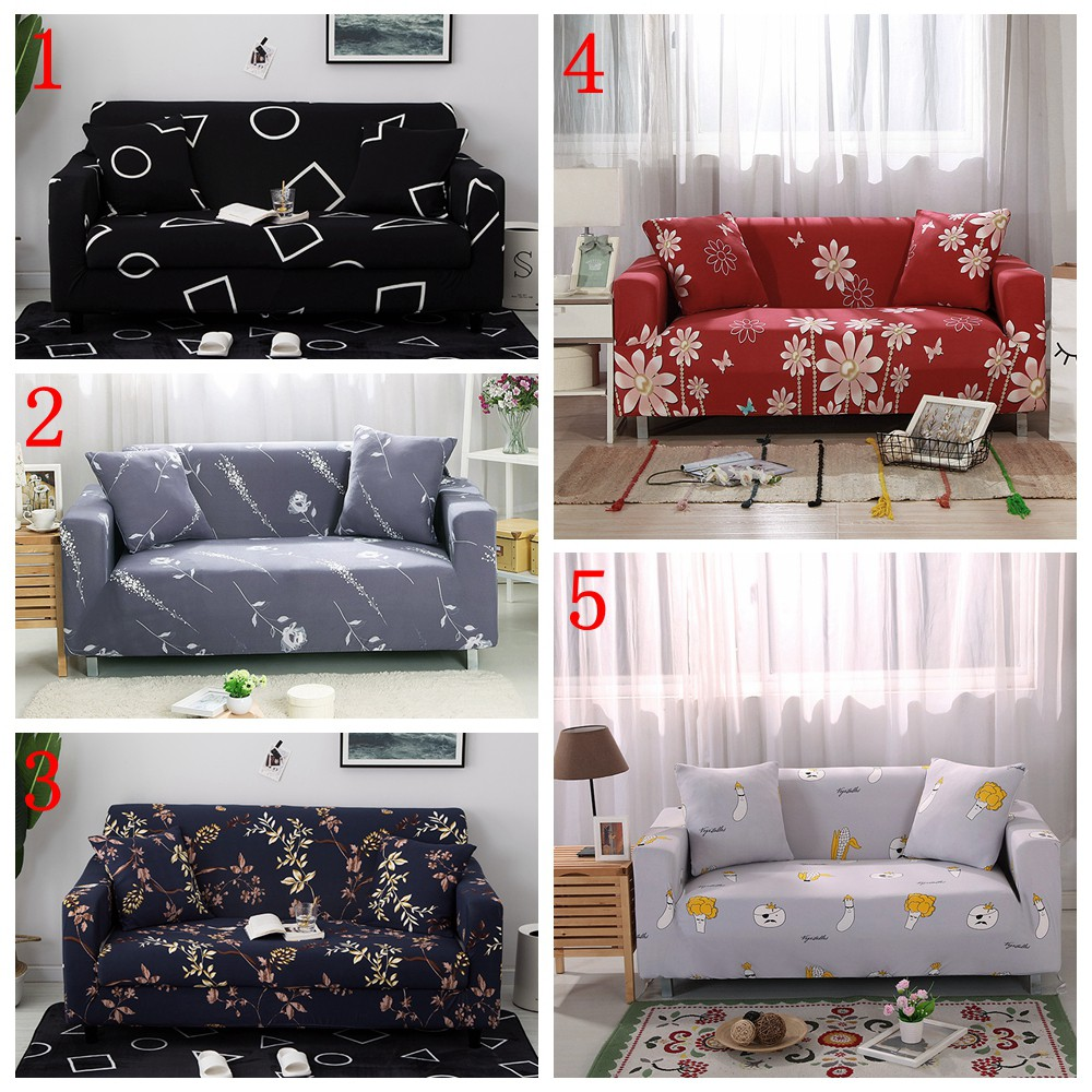 Leather Furniture Flower Sofa Cover