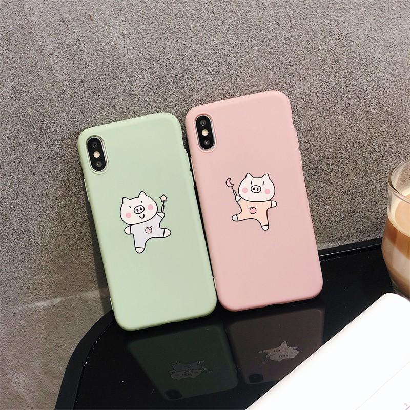 Huawei Nova 2s 2 Plus Nova 2 Lite Nova 3i 3 3E Nova 4 4E case cover cartoon Pig casing TPU Soft case cover