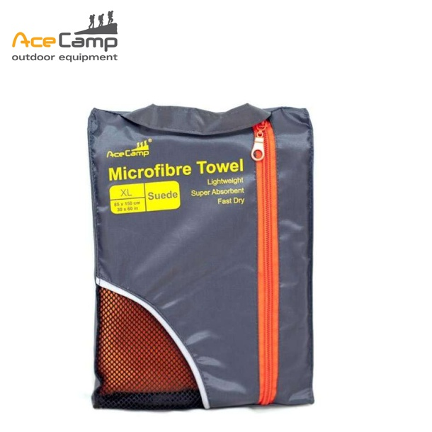 f0ddf4a776e7 ACECAMP Quick Drying Microfibre Towel Suede XL Sports Outdoor